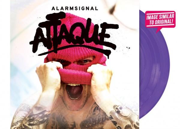 """ALARMSIGNAL - Attaque 12"""" LP - PURPLE"""